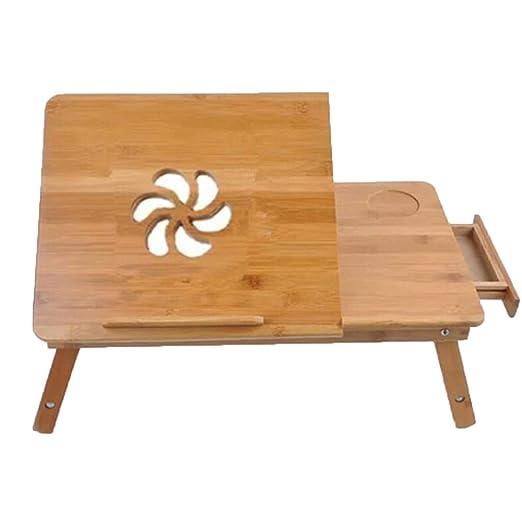 WYZBD Simple portátil pequeña Mesa/Cama con un pequeño mostrador ...