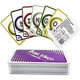 "Jumbo 5.25"" x 3.25"" Bingo Calling Cards, Pack of 84 by Royal Bingo Supplies"