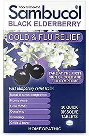 Sambucol Black Elderberry Cold & Flu Relief Tablets 3