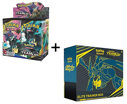 Pokemon Team Up Sun & Moon Booster Box and Elite Trainer Combo!