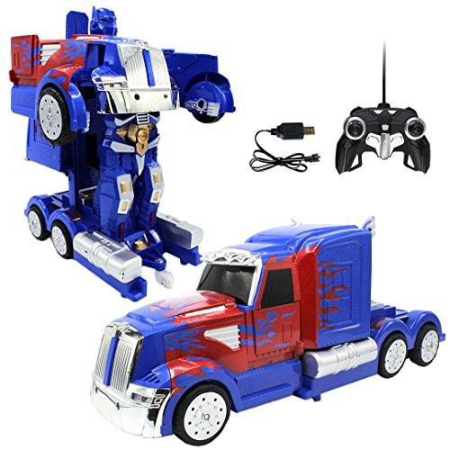 Transforming Autobots RC Car Robot Truck Remote Control