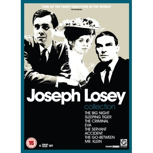 The Joseph Losey Collection: The Big Night, Sleeping Tiger, The Criminal, Eva, The Servant, Accident, The Go-Between, Mr. Klein (UK import, Region 2 PAL format)