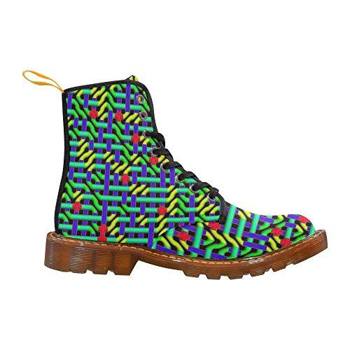 LEINTEREST colored maze Martin Boots Fashion Shoes For Women epwKrz