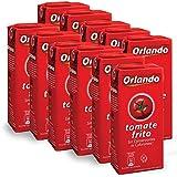 Tomate Frito Gebratene Tomaten Orlando 350 gr. (Packung mit 10)