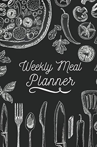 Weekly Meal Planner: Cooking Gifts for Women, Cooking Lovers, Him, Her, Who Love to Cook, Dad Presents, Adults, Men (Cooking Gifts for Women and Men Who Love To Cook)