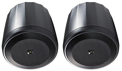 JBL C62P Ultra-Compact Mid-High Satellite Hanging Pendant Speaker, Black (sold as pair)