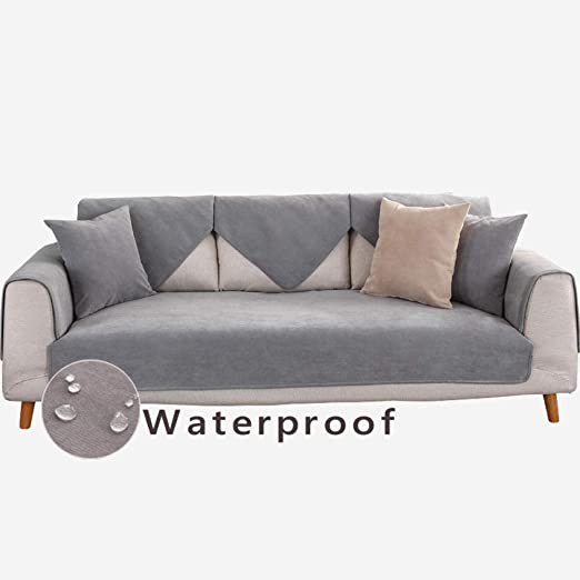 protector de sofa para gatos,Funda de terciopelo 2/3/4/5 asiento ...