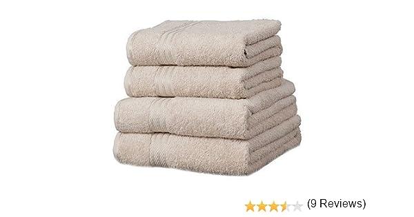 Linens Limited Toalla de Mano - 100% extraordinario algodón Egipcio - Piedra, 50x85cm: Amazon.es: Hogar