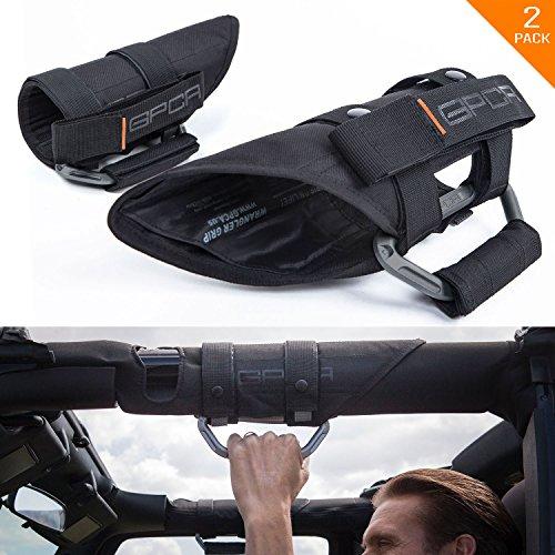 GPCA GP-Grip PRO Grab Handle for Jeep Wrangler JL JT JK Sport Sahara Rubicon Gladiator 4DR/ 2DR 2007-2020 w/ 3