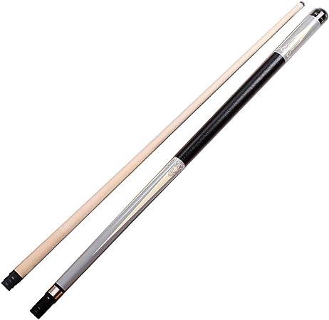 ZHTY Punta de Snooker de Arce Hecha a Mano de 1/2 Pulgada 57 Pulgadas Puntas de Rosca de 11.75 mm con Protector de Rueda Central: Amazon.es: Deportes y aire libre