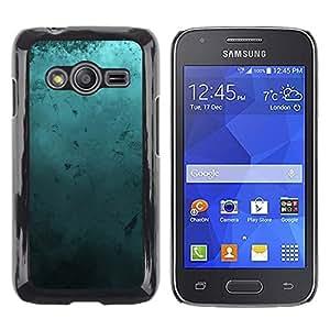 Paccase / Dura PC Caso Funda Carcasa de Protección para - Modern Art Random Blue Turquoise Ocean - Samsung Galaxy Ace 4 G313 SM-G313F