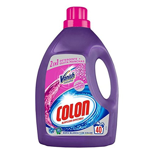 IndomitHouse Detergente Para la Ropa Colon Vanish Powergel (40 Dosis): Amazon.es: Hogar