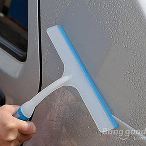 Poseidon Lavado de coches de silicona suave cuchillas secado escobilla del limpiaparabrisas: Amazon.es: Coche y moto
