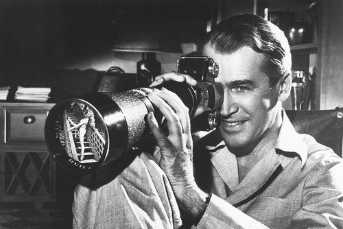 Image result for rear window james stewart