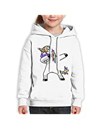 ElinaDesdemona Dabbing Unicorn Youth Hooded Sweatshirt