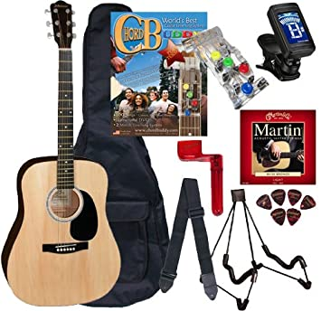 Amazon Chord Buddy Acoustic Guitar Beginners Package With Full