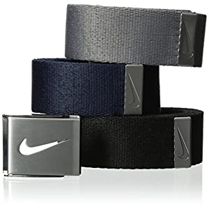 Nike Men's 3 in 1 Web Belt