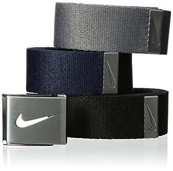 Nike Men's 3-In-1 Web Pack, Black/Grey/Navy, One Size