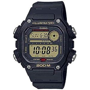 Casio Reloj Digital para Hombre de Cuarzo con Correa en plástico DW-291H-9AVEF 9