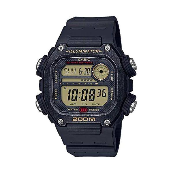 Casio Reloj Digital para Hombre de Cuarzo con Correa en plástico DW-291H-9AVEF 2