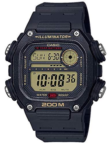 Casio Reloj Digital para Hombre de Cuarzo con Correa en plástico DW-291H-9AVEF 1