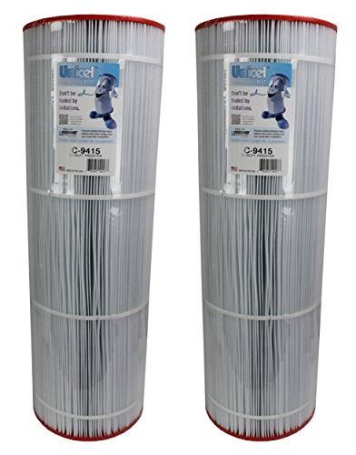 (2) Unicel C-9415 Pentair Predator Clean & Clear 150 Pool Filter Cartridges C9415)