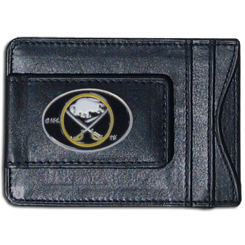 Buffalo Sabres Leather - NHL Buffalo Sabres Genuine Leather Cash and Cardholder