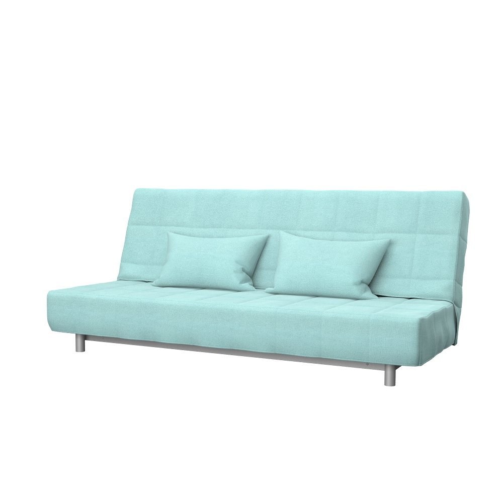 Soferia - Bezug fur IKEA BEDDINGE 3-er Bettsofa, Glam Mint
