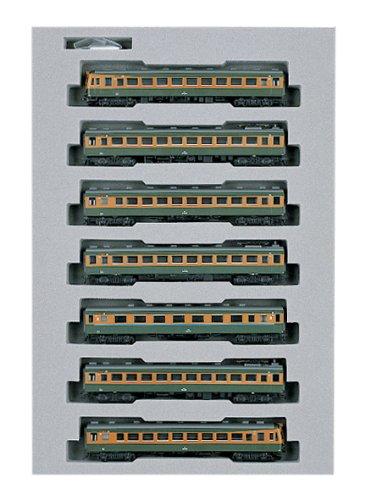 KATO Nゲージ 80系 準急東海比叡 基本 7両セット 10-379 鉄道模型 電車 B0003JWZBU