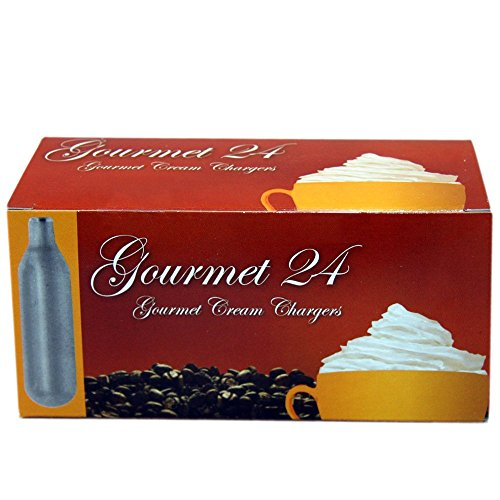 Best Whip Gourmet N20 Whipped Cream Chargers, 360 (Gourmet Whip Cream Chargers)