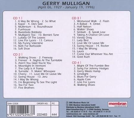 Gerry Mulligan - Quadromania - Amazon com Music