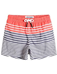MaaMgic Boys Swim Trunks Toddler Swim Shorts Little Boy's Bathing Suit Boy Swimsuit for All Ages