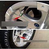 docooler Mini 2.4Bar 36PSI Car Tire Tyre Pressure Monitor Valve Stem Cap Sensor Indicator 3 Color Alert