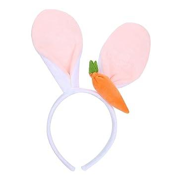 Accessoires Pour Femme Rabbit Oreilles De Lapin Carotte Bandeau Hairband.
