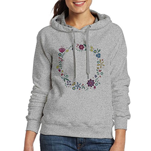 Spelling A Flower Embroidery Unique Vintage Flowers Hoodies - In Prairie Tx Shops Grand Dress