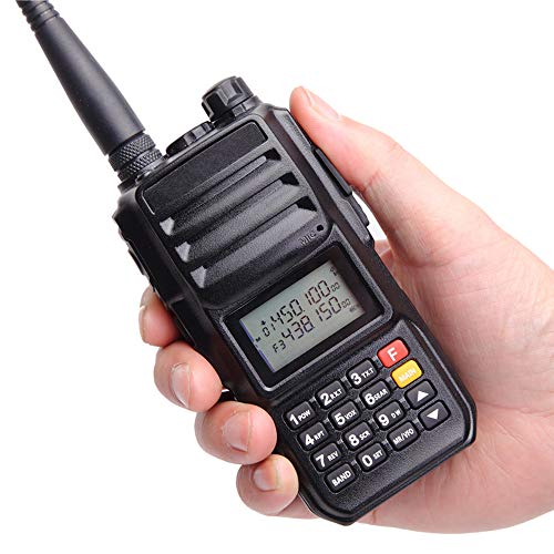 High Power 10W Tri-Band Ham Radio,Portable Long Range Walkie Talkies for Adults,4000mAh Rechargeable Li-ion Battery,200 Channel Two-Way Radios Built-in VOX Amateur Handheld Transceiver with Headset by FEILESS (Image #5)