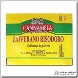 Cannamela Zafferano Risodoro - Saffron 0.1 gram Per Envelope (12 Envelopes)