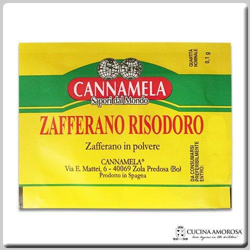 Cannamela Zafferano Risodoro - Saffron 0.1 gram Per Envelope (12 Envelopes) by Cannamela (Image #1)