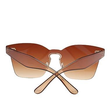 Amazon.com: OULII sin montura anteojos de sol novedad ...