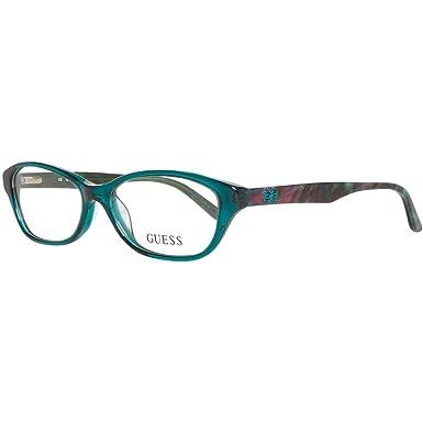 0b9e5f14b9 GUESS Eyeglasses GU 2417 Crystal Green 52MM at Amazon Women s ...