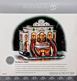 Deparment 56 Christmas in the City Majestic Theatre - Retired - 25th Anniversary Limited Edition