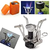 Ultralight Backpacking Gas Butane Propane Canister Outdoor Camp Stove Burner For Sale