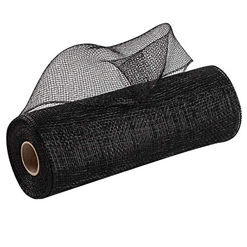 Wreath Maker Black Deco Mesh - 10