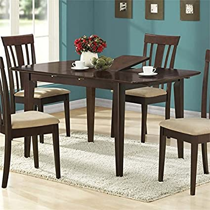 Ordinaire Pemberly Row Extendable Dining Table In Cappuccino
