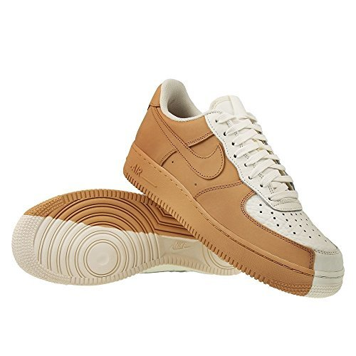 Air Force Colors (NIKE Air Force 1 Premium - 905345105 - Color Beige-White - Size: 12.0)