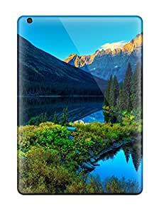 Alicia Russo Lilith's Shop Premium lake Mountain Scenery Case For Ipad Air- Eco-friendly Packaging