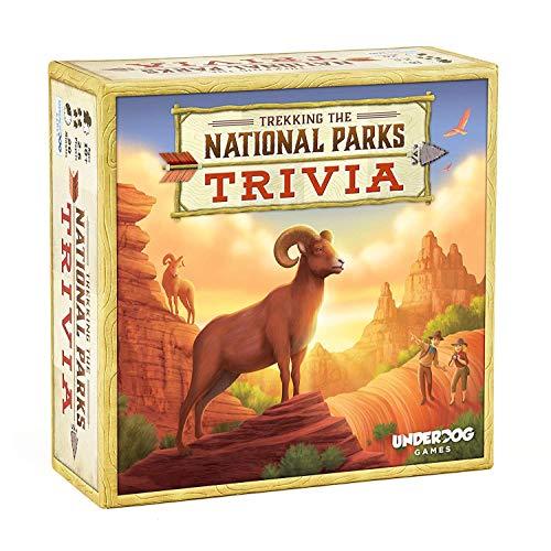 [해외]Underdog Games Trekking The National Parks: The Family Trivia Game / Underdog Games Trekking The National Parks: The Family Trivia Game