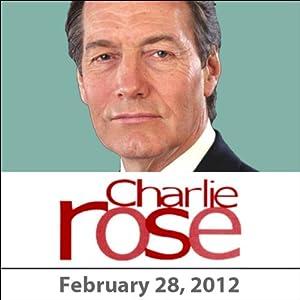 Charlie Rose: Daniel Kahneman and Alan Rickman, February 28, 2012 Radio/TV Program