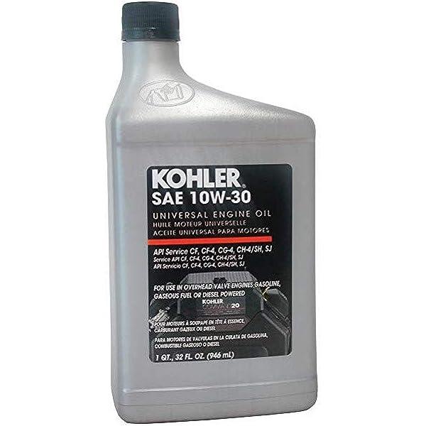 Amazon Com Kohler 25 357 06 S 10w 30 Oil Quart Garden Outdoor