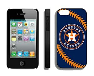 Best Iphone 4/4s Case MLB Houston Astros Sports Element Coolest Custom Made Mobile Accessories